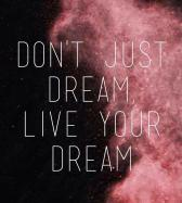 Image result for stop dreaming big